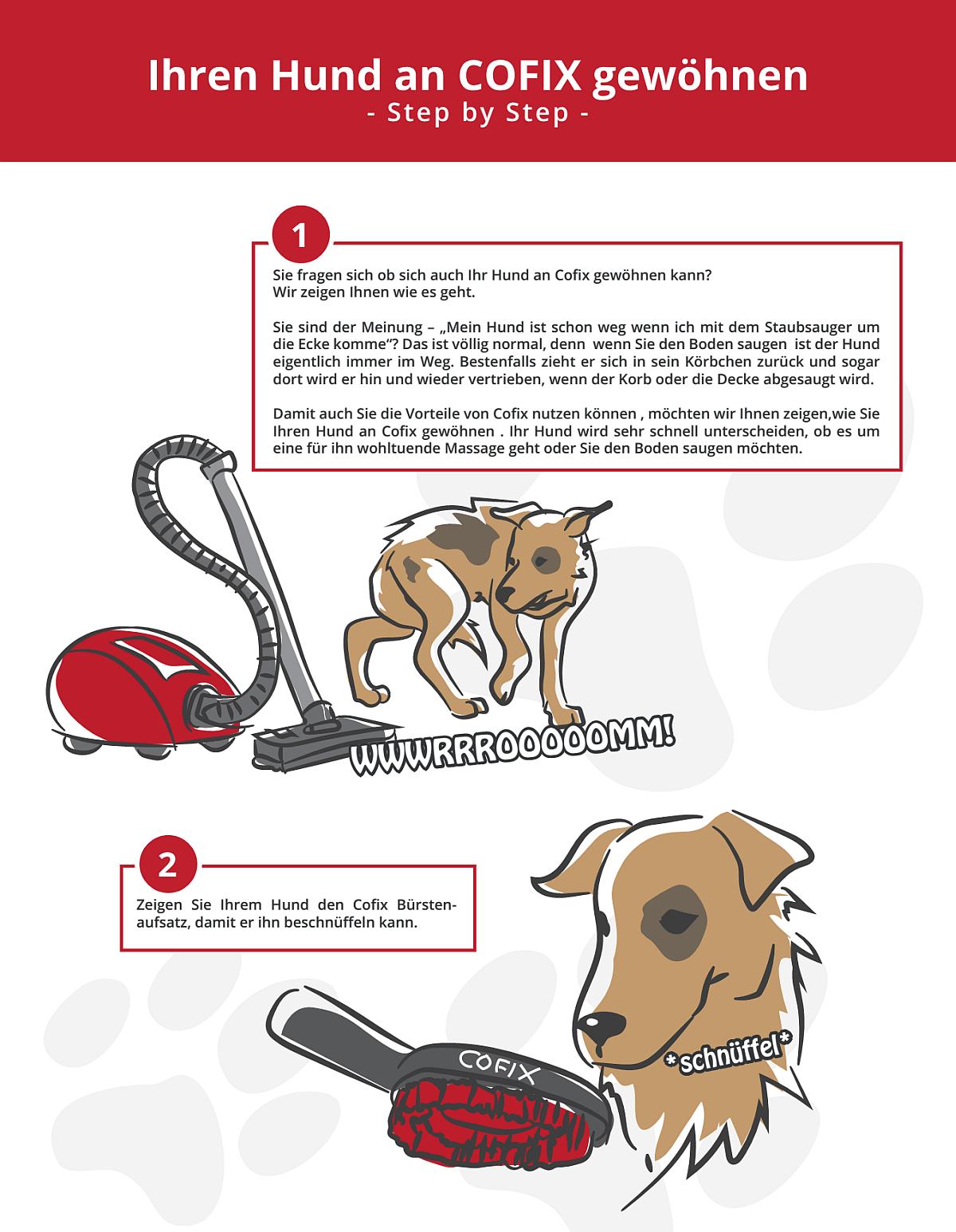 Hund an Sauger gewöhnen 1
