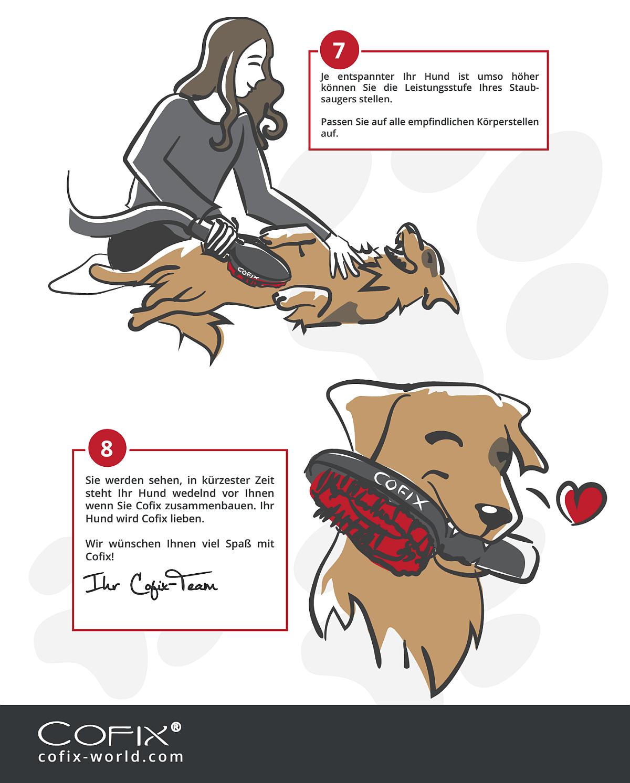 Hund an Sauger gewöhnen 4
