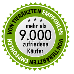 Siegel - über 9000 zufriedene Kunden